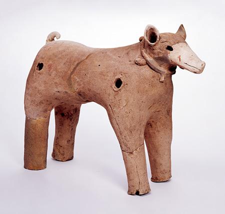 犬型埴輪 奈良県荒蒔古墳出土 古墳時代 天理市教育委員会蔵