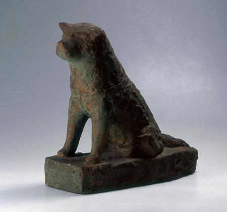 安藤照「忠犬ハチ公」昭和時代 鹿児島市立美術館蔵