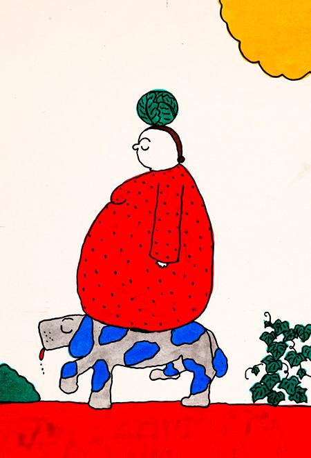 長新太『つみつみニャー』(あかね書房)より 1974年