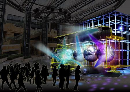 『アートトラックプロジェクト ハル号 アケボノ号』アケボノ号イメージビジュアル