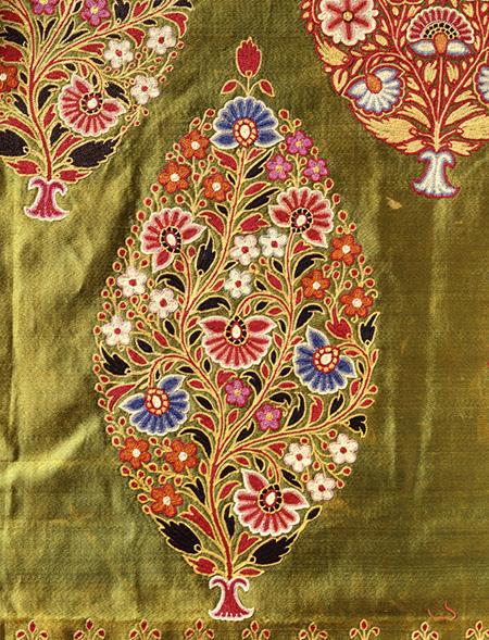 女性用スカート(ガガラ)用布 19世紀末-20世紀初頭  インド グジャラート州あるいはラージャスターン州 神戸ファッション美術館蔵