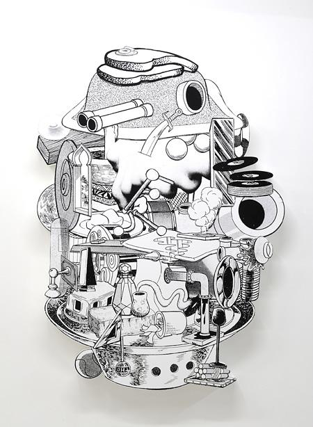 金氏徹平『Games, Dance & the Constructions (Nowhere Sculpture)』#1 2014