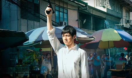 フィリピンロケの様子 ©2015劇場版「MOZU」製作委員会 ©逢坂剛/集英社