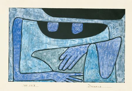 パウル・クレー『魔が憑く』1939年 パウル・クレー・センター(ベルン)蔵 ©Zentrum Paul Klee c/o DNPartcom