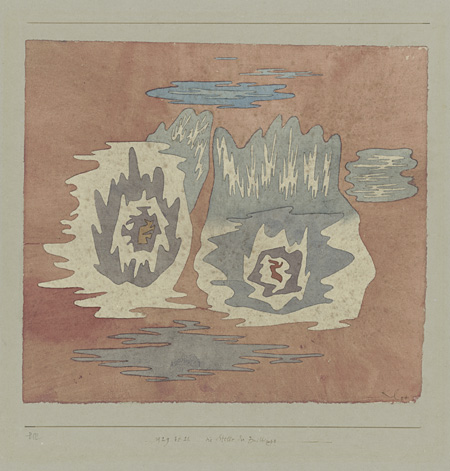 パウル・クレー『双生の場所』1929年 パウル・クレー・センター(ベルン)蔵 ©Zentrum Paul Klee c/o DNPartcom