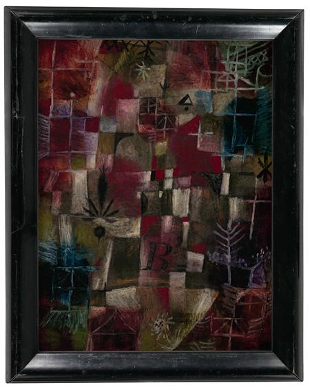 パウル・クレー『窓のあるコンポジション』1919年 パウル・クレー・センター(ベルン)蔵 ©Zentrum Paul Klee c/o DNPartcom