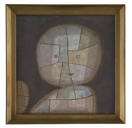 パウル・クレー『子どもの胸像』1933年 パウル・クレー・センター(ベルン)蔵 ©Zentrum Paul Klee c/o DNPartcom