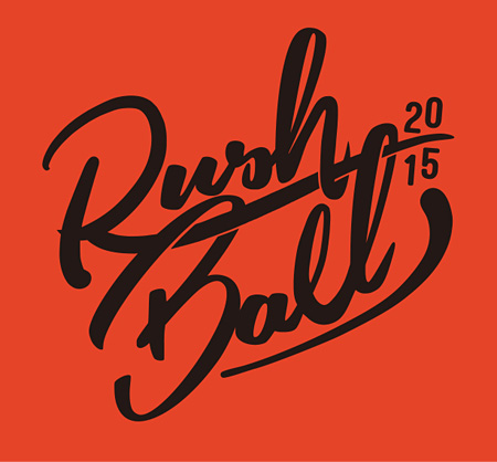 『RUSH BALL 2015 feat. GREENS 25th Anniv.』ロゴ