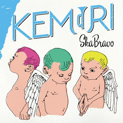 KEMURI『SKA BRAVO』CD盤ジャケット
