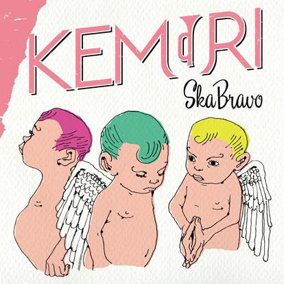 KEMURI『SKA BRAVO』CD+DVD盤ジャケット