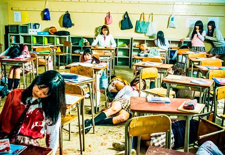 『リアル鬼ごっこ』 ©2015「リアル鬼ごっこ」学級委員会