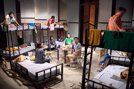 青年団 第57回公演『冒険王』2008年11月 撮影:青木司