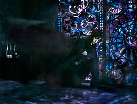 セバスチャン・ミカエリス役の古川雄大 ©2015 枢やな/ミュージカル黒執事プロジェクト