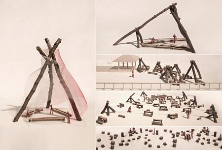 金野千恵『timber messenger~山から海へ旅するカフェ~』イメージビジュアル