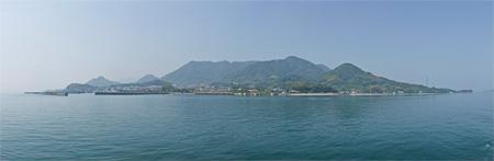 『大三島全景』©Yusuke Nishibe