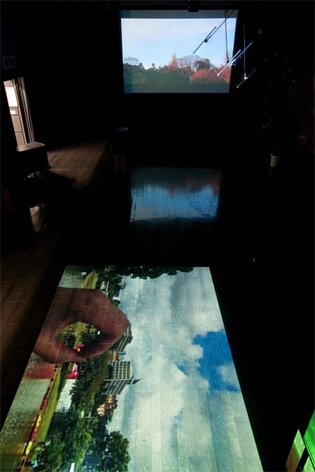 『音的→神戸|soundlike 2』神戸アートビレッジセンター、2013年 撮影:福永一夫 写真提供:神戸アートビレッジセンター