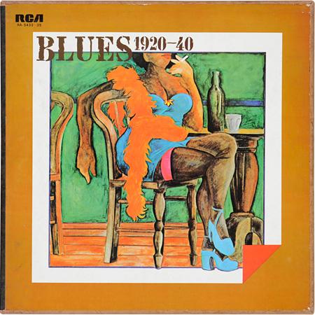 『RCAブルースの古典』トミー・ジョンスン、他 LP 日本ビクター