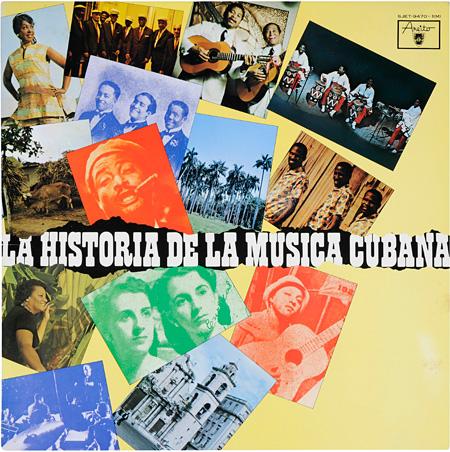 『キューバ音楽の歴史』メルセディータ・バルデス、他 LP ビクター音楽産業