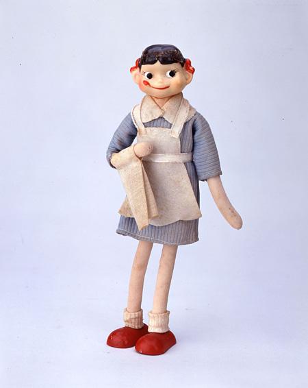 ウエイトレスペコちゃん人形(幡野泰子作)1960年代