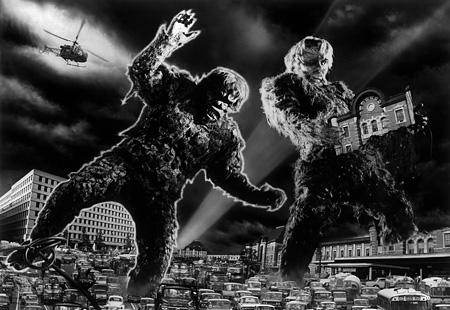 『フランケンシュタインの怪獣 サンダ対ガイラ』 ©1966 TOHO co.,ltd