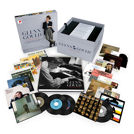 Glenn Gould『Glenn Gould Remastered - The Complete Columbia Album Collection』81枚組ボックスセット