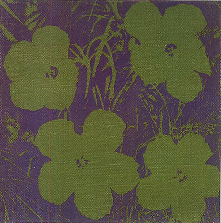 アンディ・ウォーホル『フラワー』1965