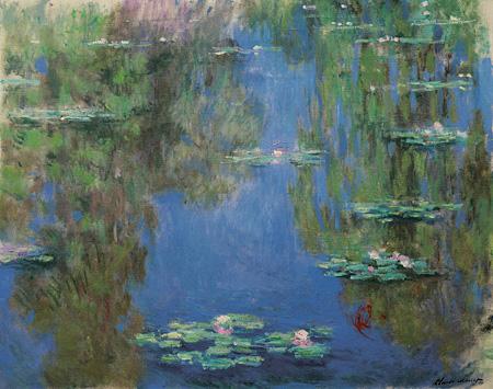 クロード・モネ『睡蓮』1903年 油彩、カンヴァス 73x92cm Musée Marmottan Monet, Paris ©Bridgeman-Giraudon