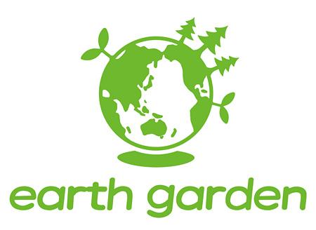 『earth garden』ロゴ