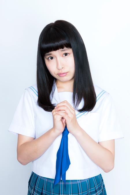 るみちゃん役のトミタ栞 ©2015原克玄・小学館/るみちゃんのドラマ製作委員会