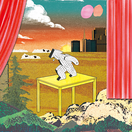 Alfred Beach Sandal『Unknown Moments』ジャケット