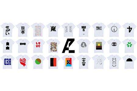 『ANREALAGE T-shirts Line AZ』ラインナップ