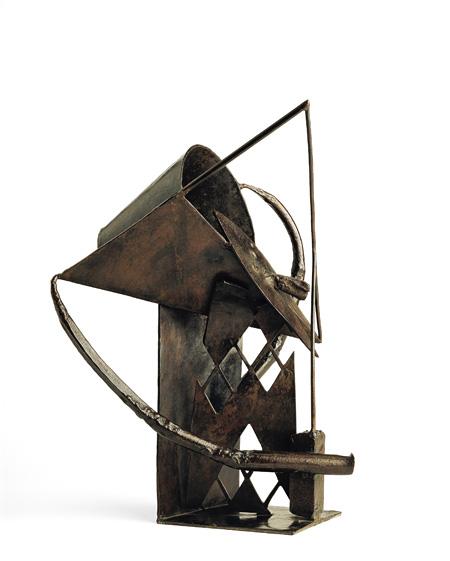 『アルルカン/ピエロ、あるいはコロンビーヌ』1930年頃 バレンシア現代美術館蔵  ©IVAM, Institut Valencià d'Art Modern