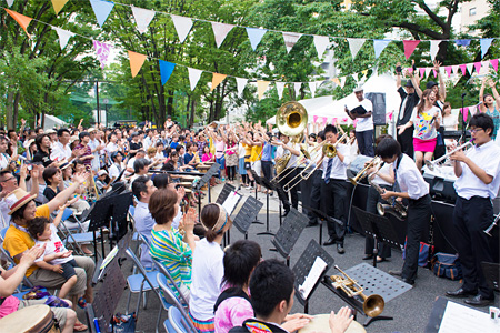 2014年7月3日に開催された『渋谷ズンチャカ!』プレイベントの様子