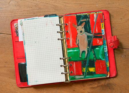 「赤い手帳」 ©2015 Anne Gutman & Georg Hallensleben / Hachette Livre