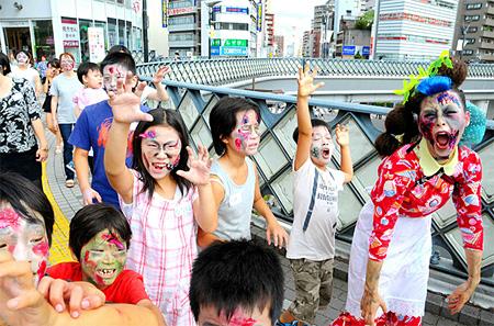 『ゾンビママのBe zombie! Workshop』
