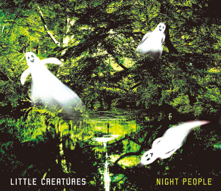LITTLE CREATURES『NIGHT PEOPLE』ジャケット