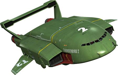 サンダーバード2号 © ITV Studios Limited / Pukeko Pictures LP 2015, All copyright in the original ThunderbirdsTM series is owned by ITC, Entertainment Group Limited.