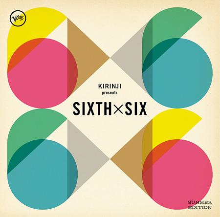 V.A.『KIRINJI presents Sixth x Six -summer edition-』ジャケット