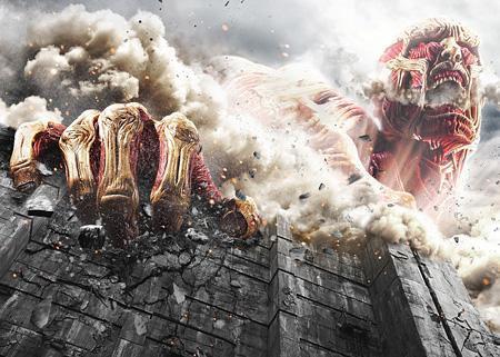 『進撃の巨人 ATTACK ON TITAN』 ©2015 映画「進撃の巨人」製作委員会 ©諫山創/講談社
