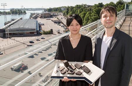 モロークスノキ建築設計による「Art in the City」3D模型 Photo: Riitta Supperi