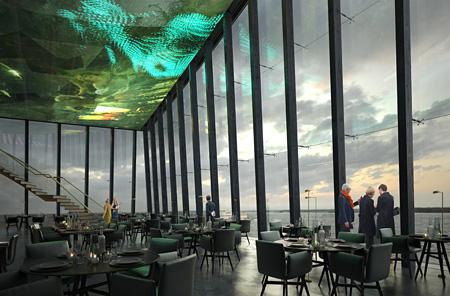 モロークスノキ建築設計によるグッゲンハイム・ヘルシンキ美術館「Art in the City」イメージビジュアル