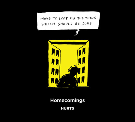 Homecomings『HURTS』ジャケット