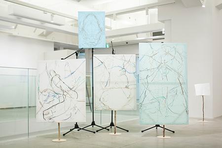 伊藤存「地域アートプロジェクト報告展〈磯部湯活用プロジェクト〉」2014年/アーツ前橋