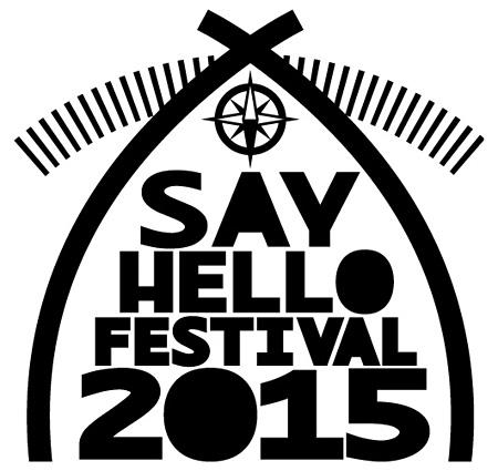 『SAY HELLO FESTIVAL 2015』ロゴ