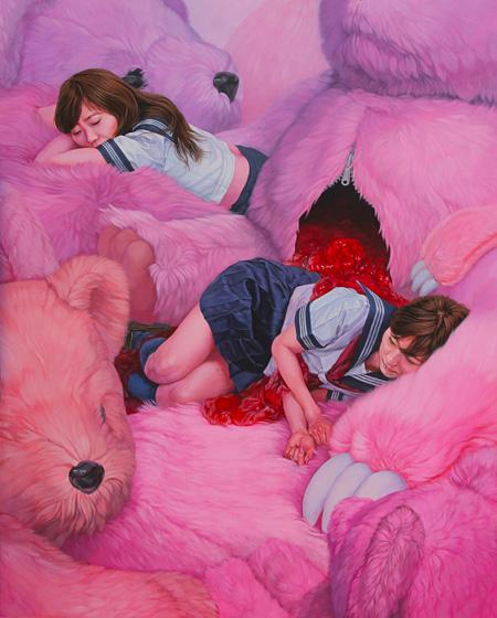 堀一浩『tender restraint』2012 162×130.3cm