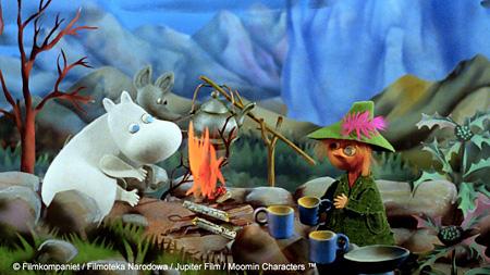 『劇場版 ムーミン谷の彗星 パペット・アニメーション』 ©Filmkompaniet / Filmoteka Narodowa / Jupiter Film / Moomin Characters