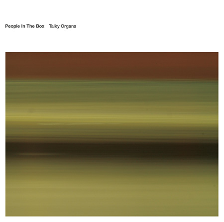 People In The Box『Talky Organs』ジャケット