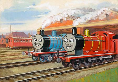 レジナルド・ダルビー『ジェームスとシルクハット』1948年 ©2015 Gullane(Thomas)Limited.