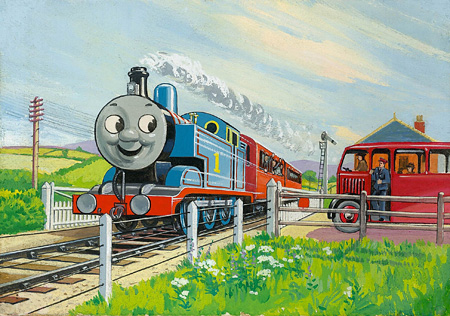 レジナルド・ダルビー『トーマスとバーティー』1949年 ©2015 Gullane(Thomas)Limited.
