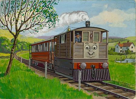 レジナルド・ダルビー『トビーとふとっちょのしんし』1952年 ©2015 Gullane(Thomas)Limited.